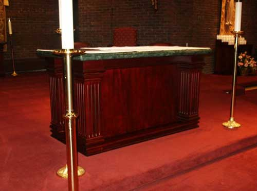 liturgical woodworking image